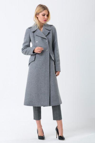 Manteau gris Sonia Rykiel