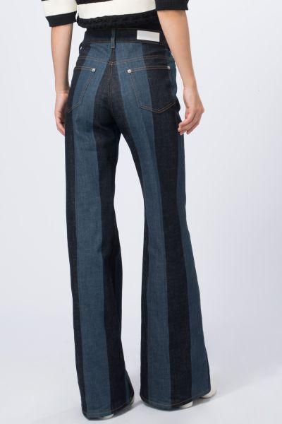 Pantalon bleu Sonia Rykiel