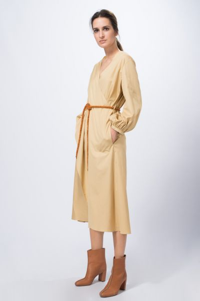 Robes beige Véronique Leroy