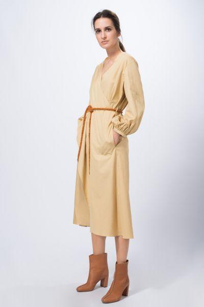 Robe beige Véronique Leroy