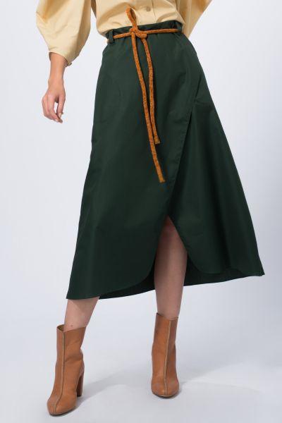 Jupe vert Véronique Leroy