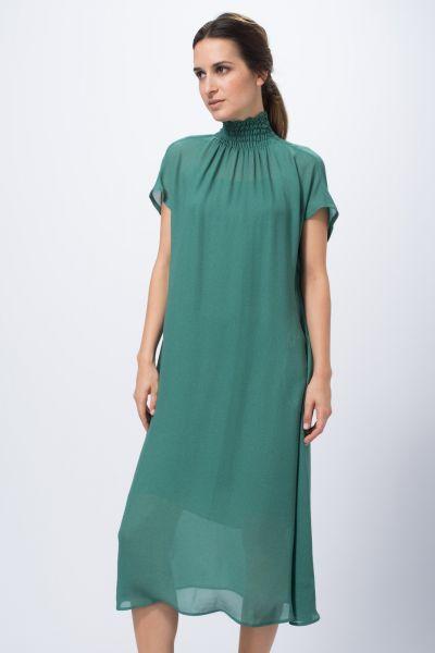 Robe vert Véronique Leroy