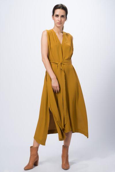 Robe jaune Véronique Leroy