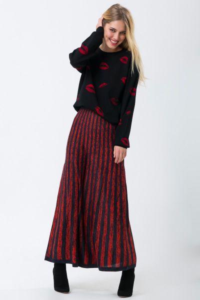 Jupe rouge Sonia Rykiel