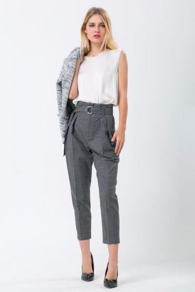 Pantalon gris Iro
