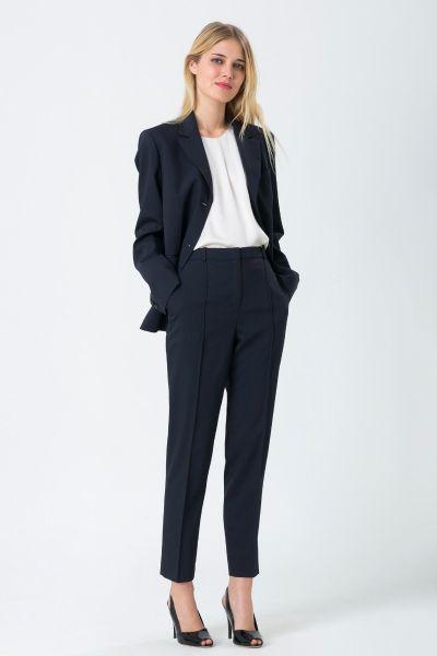 Pantalon bleu Jil Sander