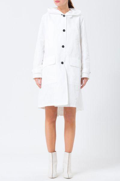 Manteau blanc Jil Sander