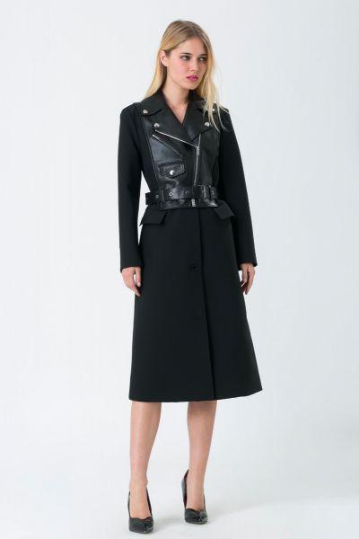 Manteau noir Sonia Rykiel
