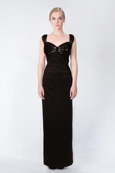 Robes longues noir Azzaro