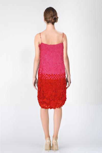 Robe rouge John Galliano
