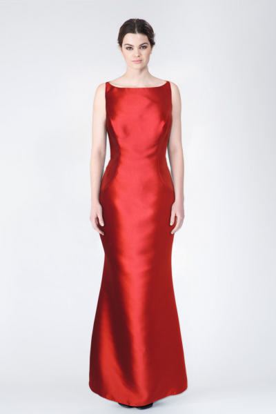 Robe longue rouge LFE