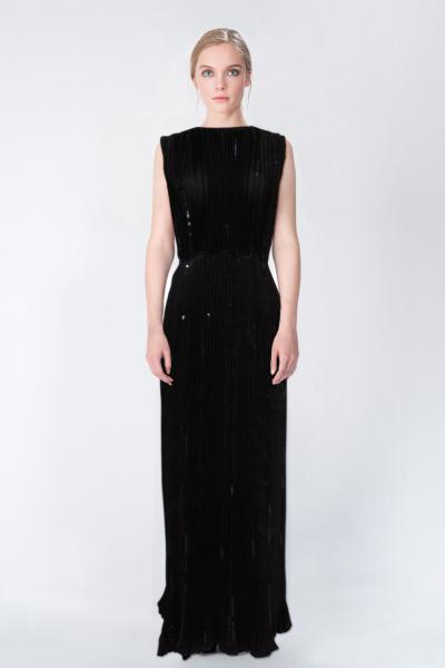 Robe longue noir Nina Ricci