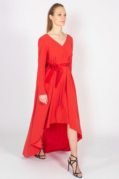 Robes longues rouge Paule Ka
