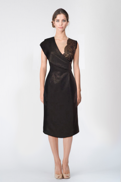 Robe marron Ungaro