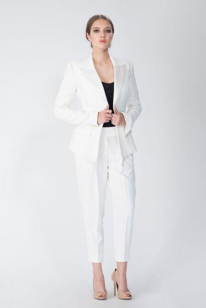 Pantalon blanc Alexandre Vauthier