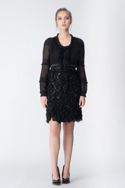 Robe noir Roberto Cavalli