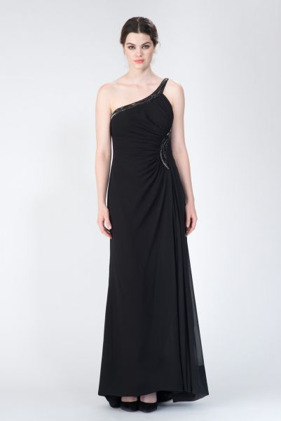 Robe longue noir Roberto Cavalli