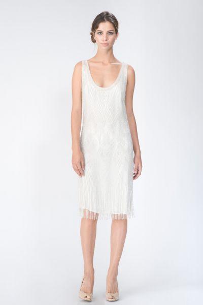 Robe blanc Roberto Cavalli