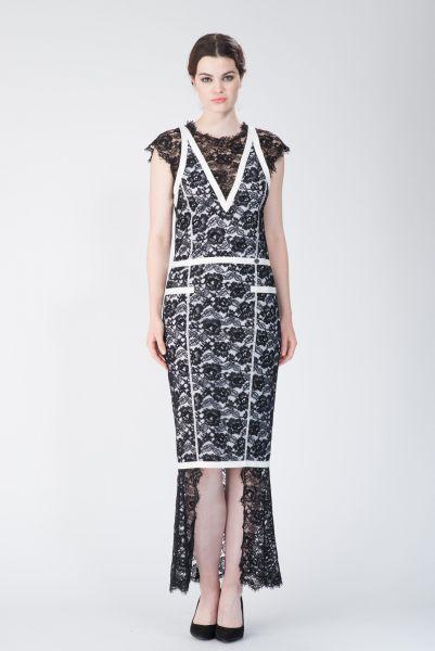 Robe longue noir Chanel