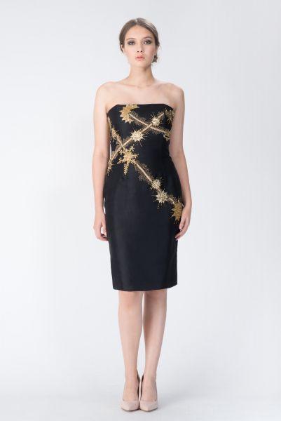 Robe doré Christian Dior