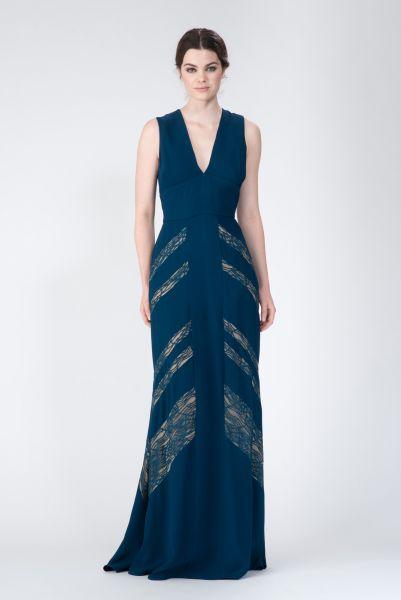 Robe longue bleu Elie Saab