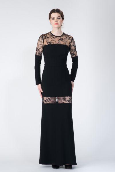 Robe longue noir Elie Saab