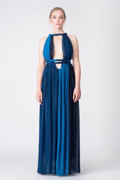 Robe longue bleu Jay Ahr