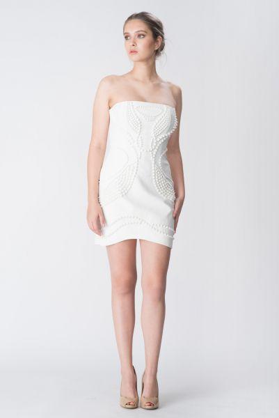 Robe blanc Jay Ahr