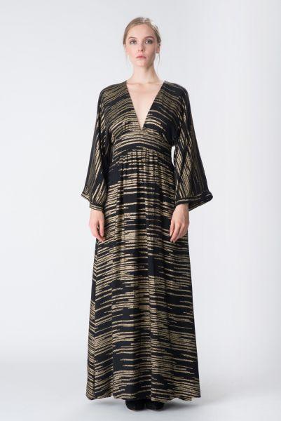 Robe longue doré Jay Ahr