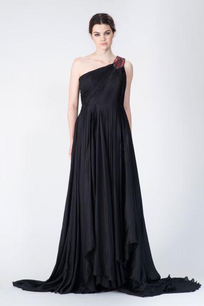 Robe longue noir Jay Ahr