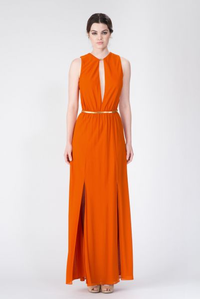 Robes longues orange Jay Ahr