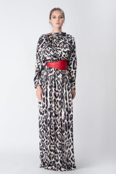 Robe longue imprimé Lanvin