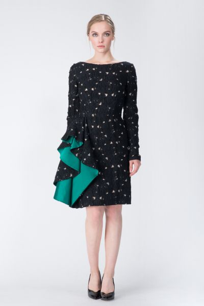 Robe noir Lanvin