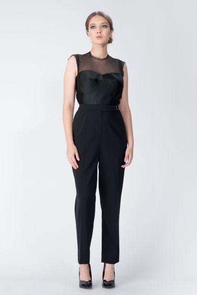 Combipantalons noir Lanvin