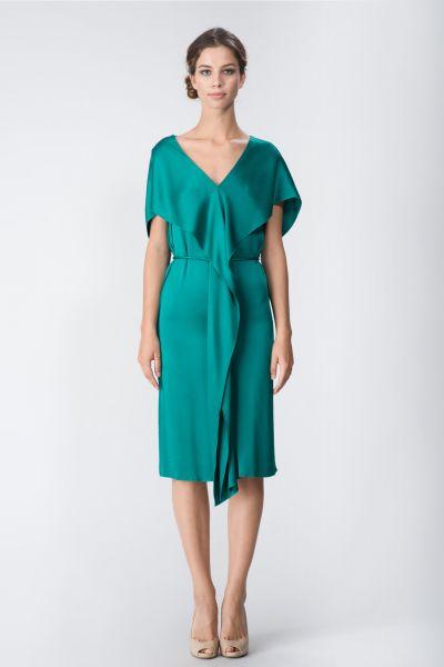 Robe vert Lanvin