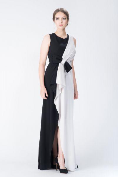 Robes longues noir Paule Ka