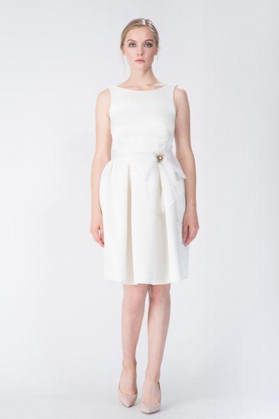 Robe blanc Paule Ka
