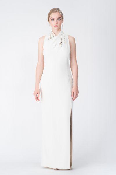 Robe longue blanc Paule Ka