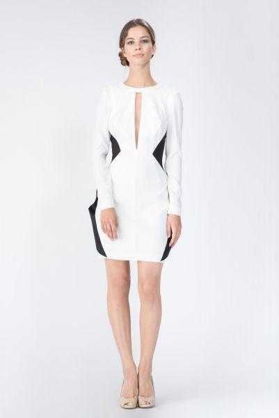 Robes blanc Paule Ka