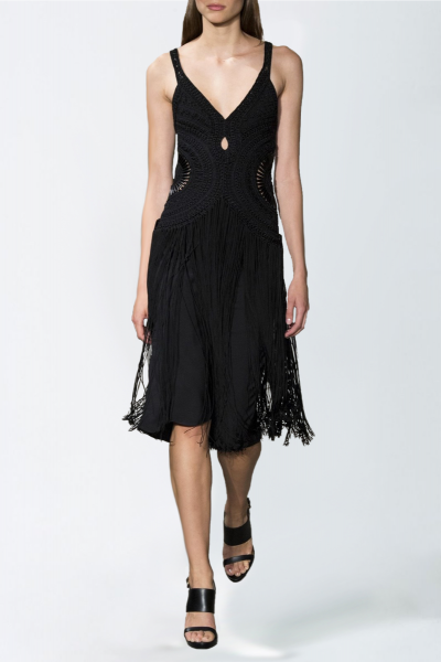Robe noir Ralph Lauren