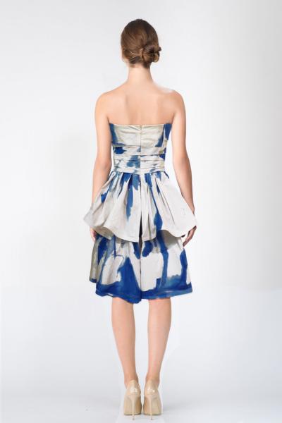 Robe bleu Ralph Lauren
