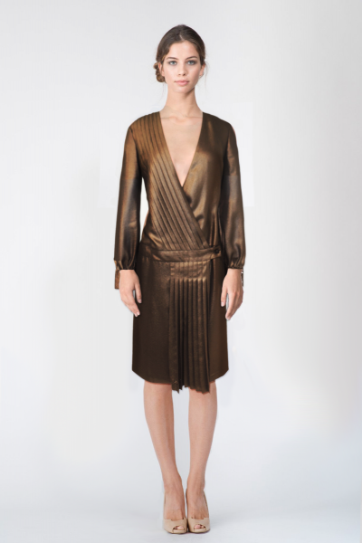 Robes bronze Ungaro