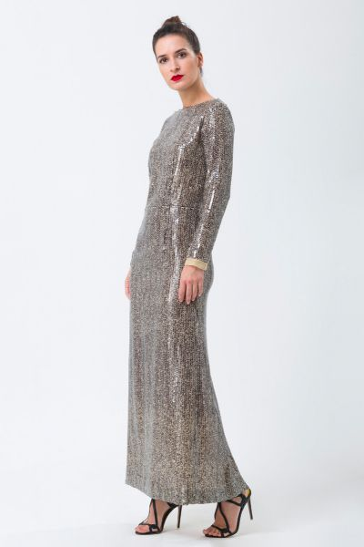 Robe longue bronze Givenchy