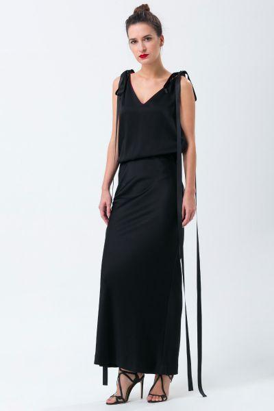 Robe longue noir Ungaro