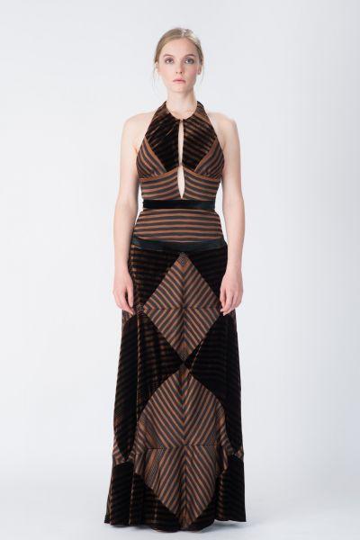Robe longue noir Sonia Rykiel