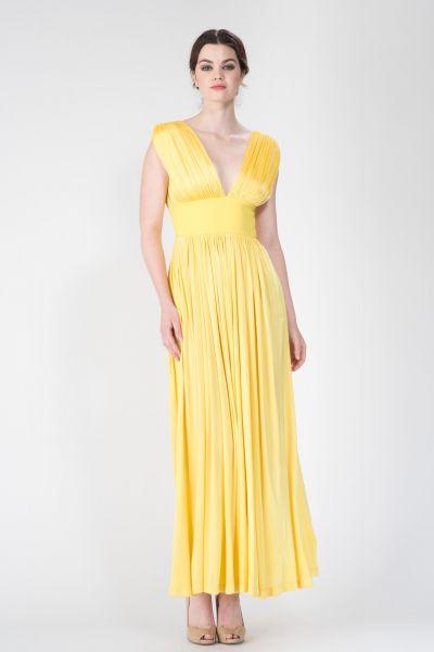 Robes longues jaune Ungaro
