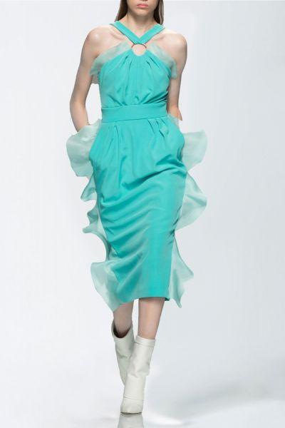 Robe vert Ungaro