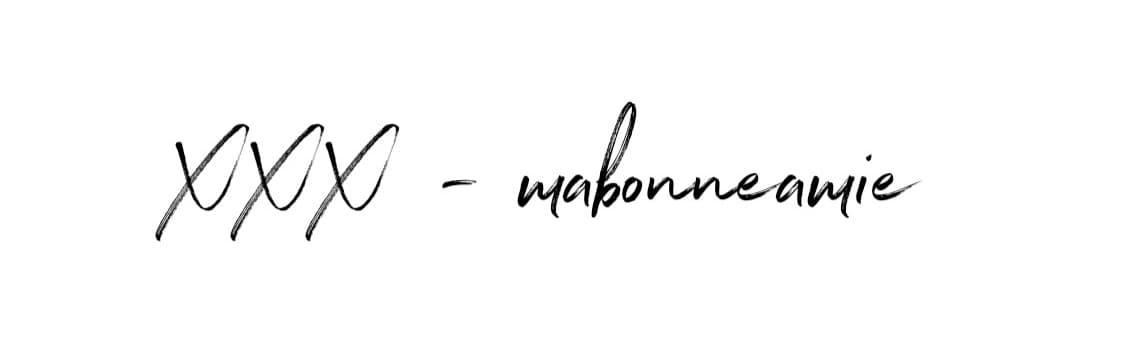 signature mabonneamie