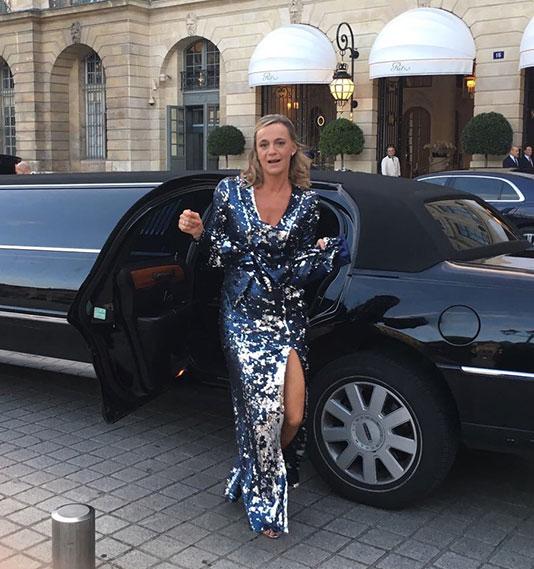 Nathalie robe de soirée Ritz