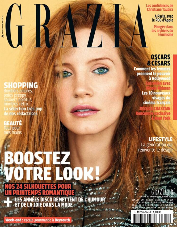 Magazine Grazia n°384